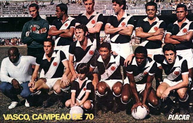 Torcidas do Vasco  TIMES DO VASCO  DÉCADA DE 1970 5097a97e2738d