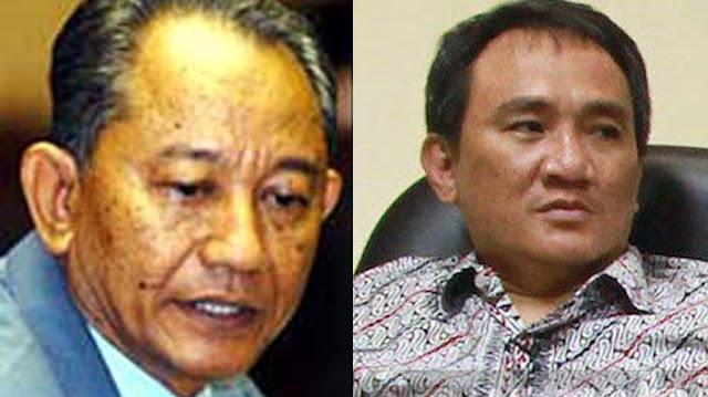 Nazaruddin Sjamsudin Bandingkan AHY dengan Obama, Andi Arief: Yang Nangkep Sampeyan KPK