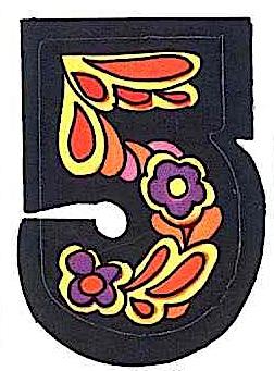 a 1969 crack & peel sticker image