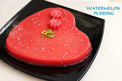 ayeshas kitchen pudding recipes watermelon pudding yummy dessert ramadan recipes hot and cool drinks watermelon recipes juices party pudding
