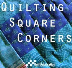 Quilting Square Corners