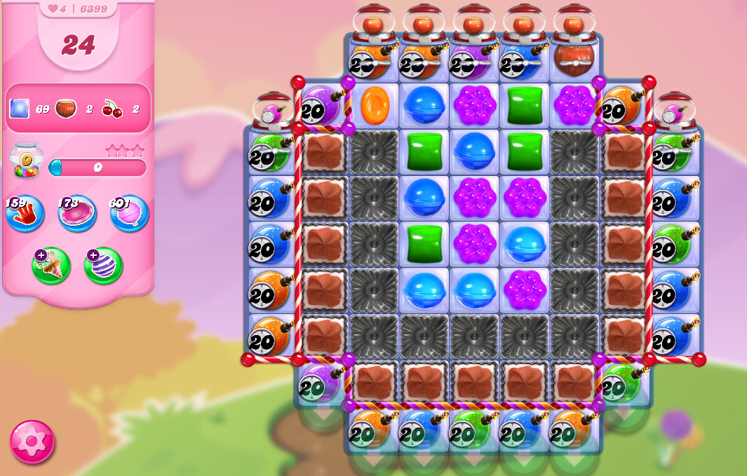Candy Crush Saga level 63699
