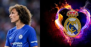 David Luiz The Chelsea star will sign for Real Madrid on one condition