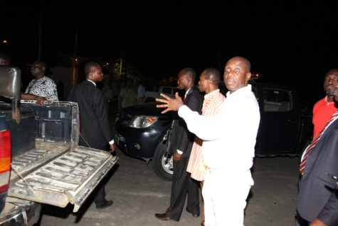 Amaechi prevented by police