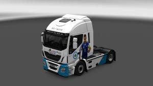 San Marino Football Team Skin for Iveco Hi Way