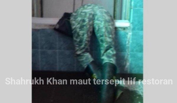 Shahrukh Khan maut tersepit lif restoran