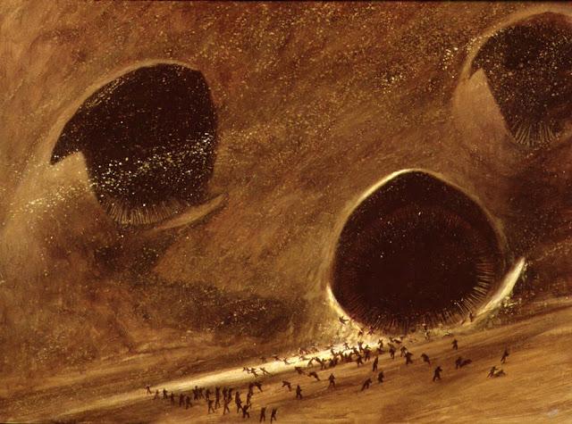 Ilustración de Schoenherr para Dune, de Frank Herbert