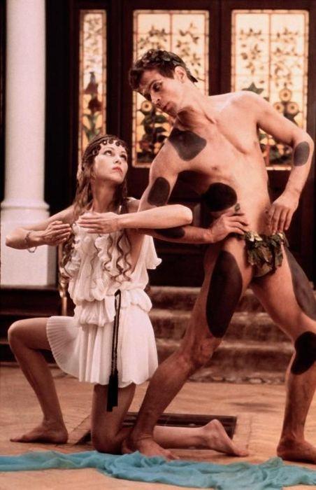 oliver reed, alan bates wrestling