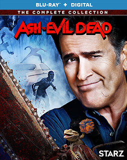 Ash vs Evil Dead: The Complete Collection on Blu-ray, Digital and DVD 10/16