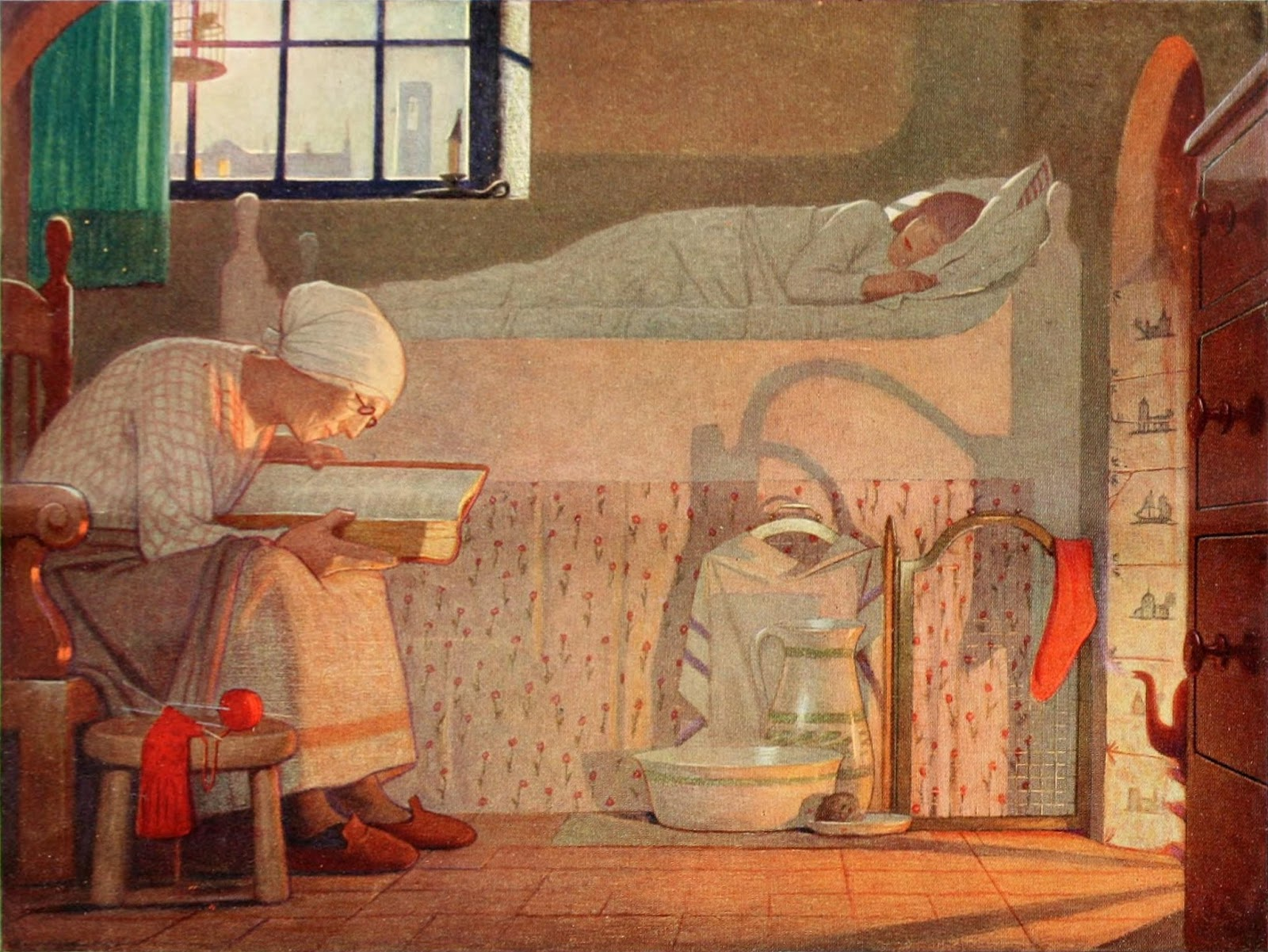 Paintings by Frederick Cayley Robinson