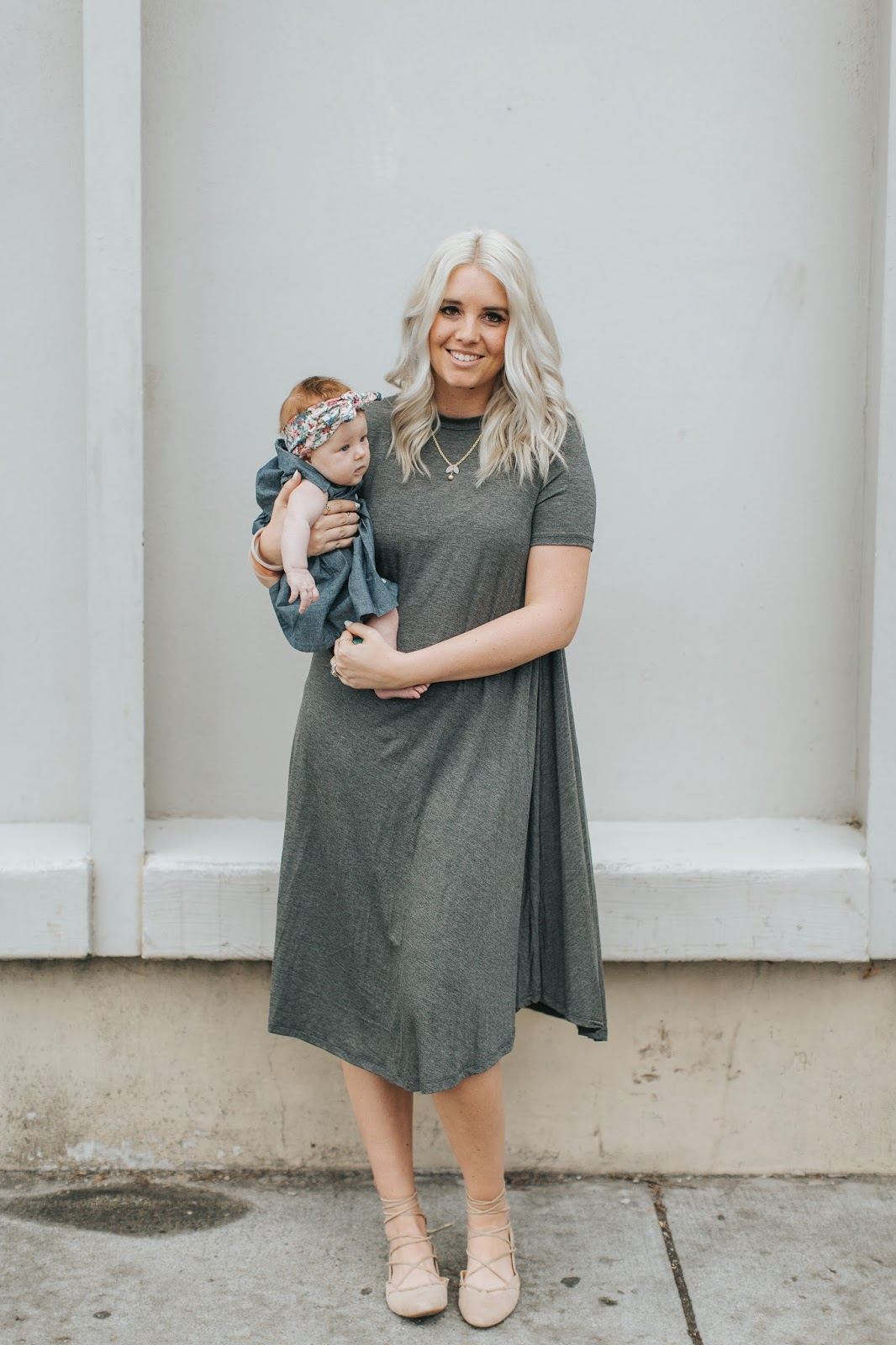 Spring Outfits, Mommy and Me Style, Color by Amber