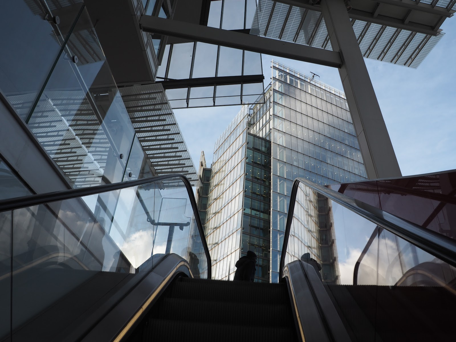 Architecture In the City of London at The Shard