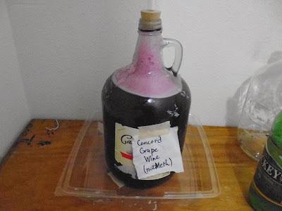 Concord Grape Wine