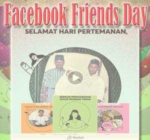Fitur Facebook Friends Day Tampil Beda Dengan Video dan Bingkai Foto Unik, Begini Cara Membagikannya