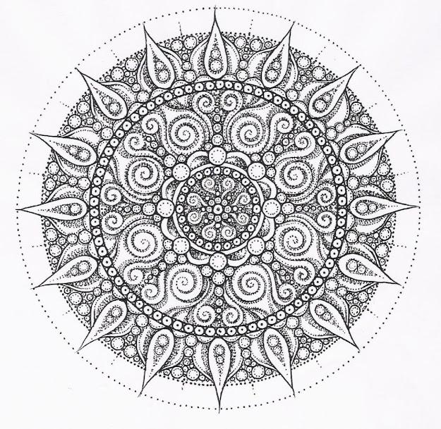 Mandala Coloring Page Adult Coloring Coloring Pages Mandala Design