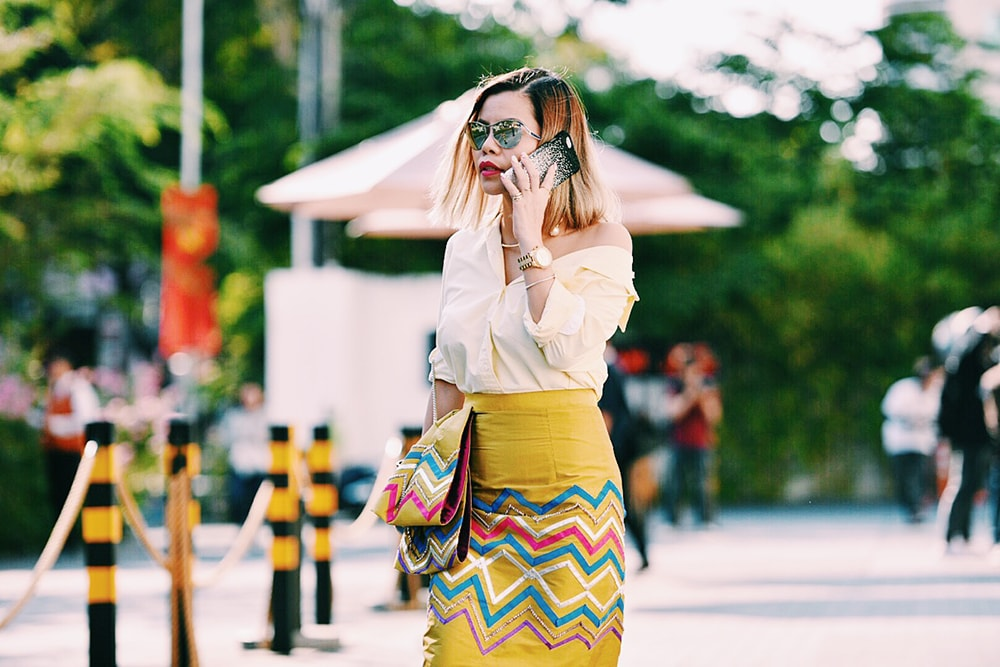 Vietnam International Fashion Week 2016- day 2- Crystal Phuong- Streetstyle