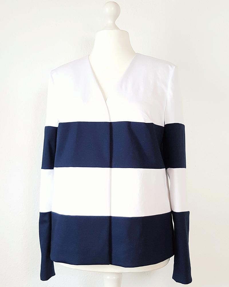 nähen, sewing, DIY, nautical, Streifen, stripes, Blockstreifen, maritim