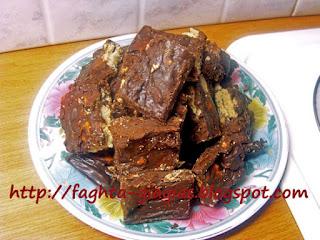 Φοντάν σοκολάτας με γεμιστά μπισκότα βανίλιας - από «Τα φαγητά της γιαγιάς»