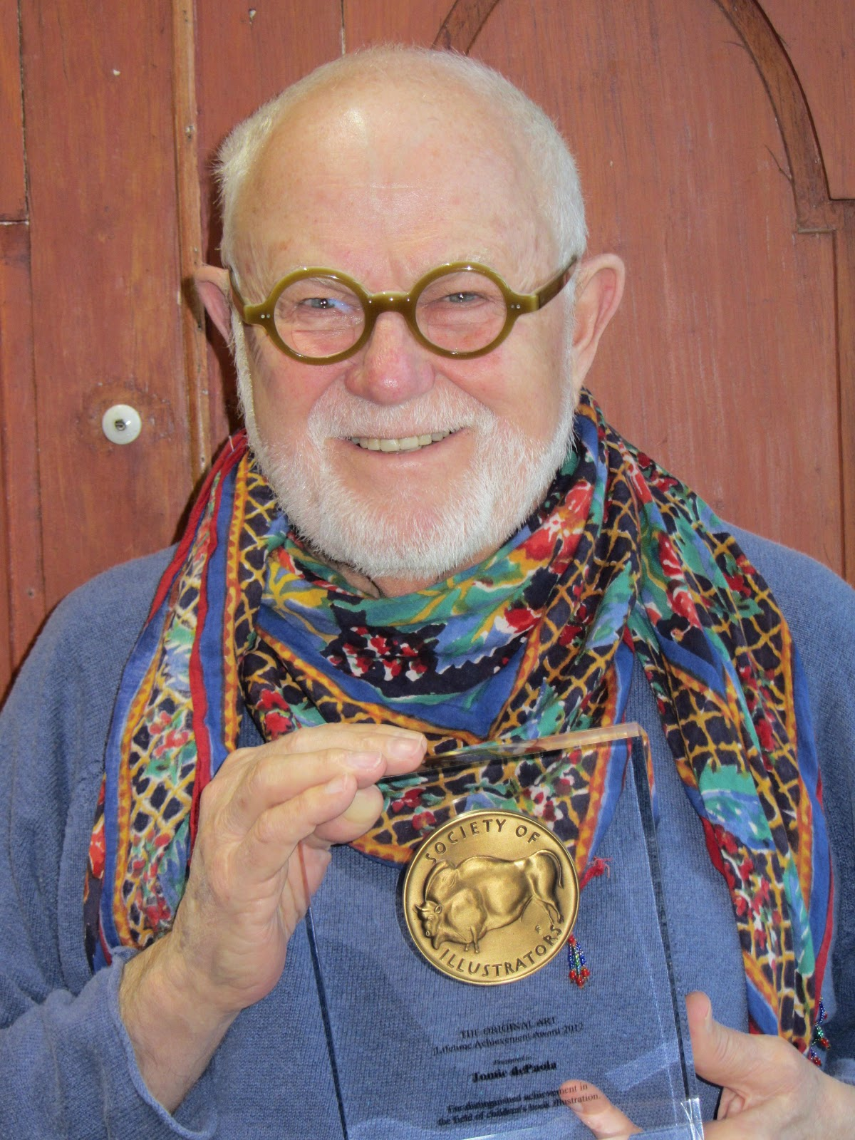 The Official Tomie Depaola Blog A Man With His Medal And
