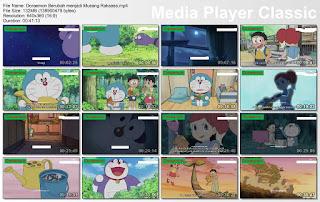Doraemon Berubah menjadi Musang Raksasa
