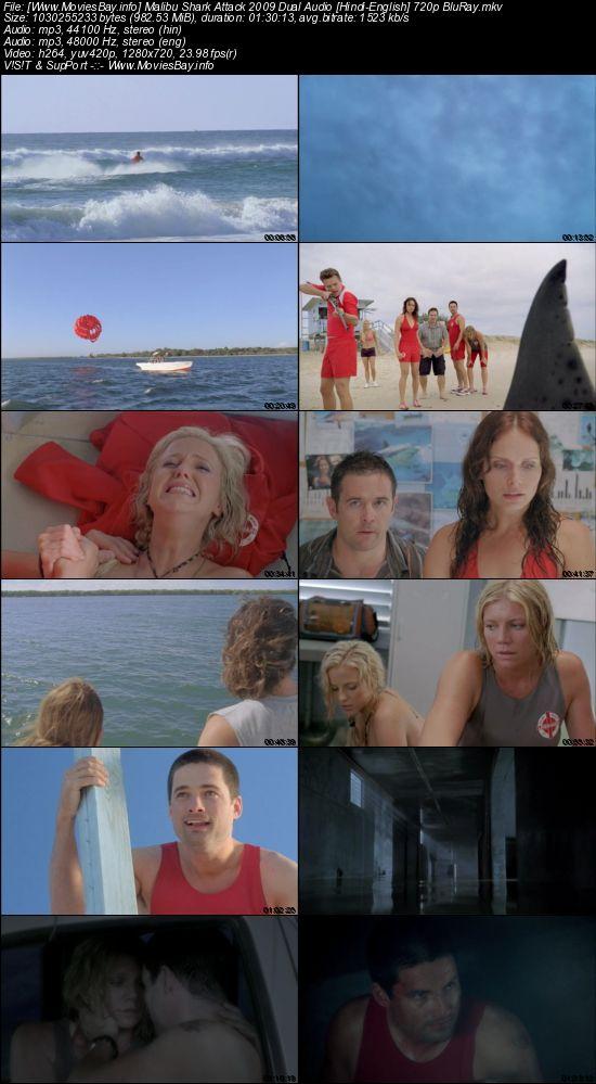 Malibu Shark Attack 2009 Dual Audio [Hindi-English] 720p BluRay worldfree4u
