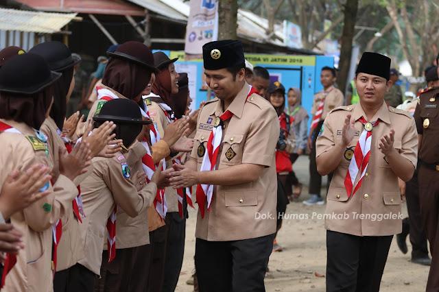 Bupati Trenggalek Hadiri Pembukaan PERTIDA VI Saka Bhakti Husada Tingkat Provinsi Jawa Timur