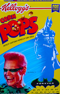 pops 90's batman cereal box