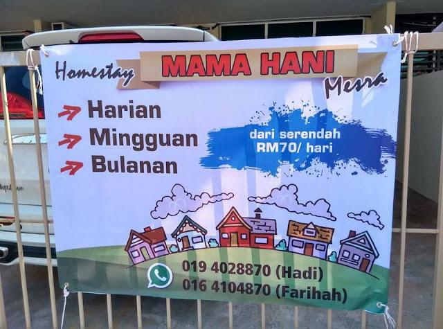 Mama Hani Homestay Kuantan