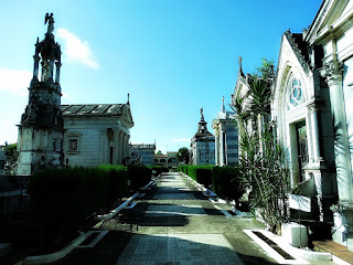 Quadras 2 e 3 do Cemitério da Santa Casa