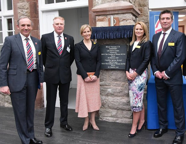 Countess Sophie opens new Blind Veterans building in Llandudno