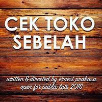 Biodata Pemain Film Cek Toko Sebelah