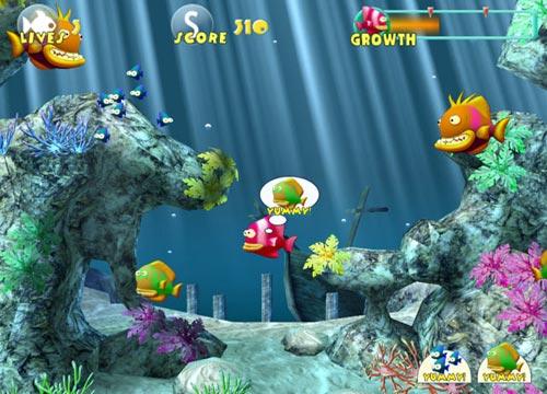 لعبة المغامرات السمكة Fish Tales للاطفال مجانا