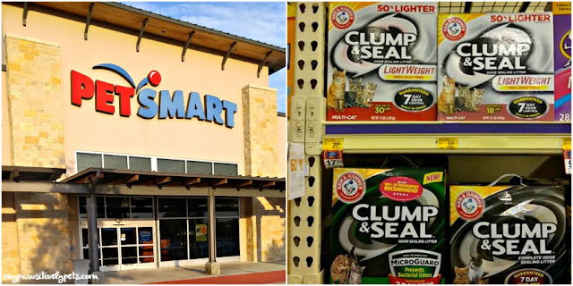 ARM & HAMMER CLUMP & SEAL cat litter can be conveniently purchased from you local PetSmart store.