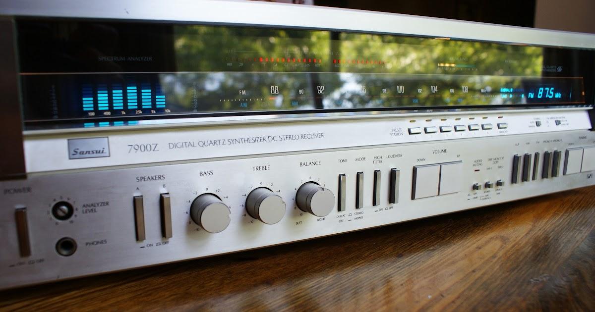 Vintage Sound Sansui 7900z Monster Receiver