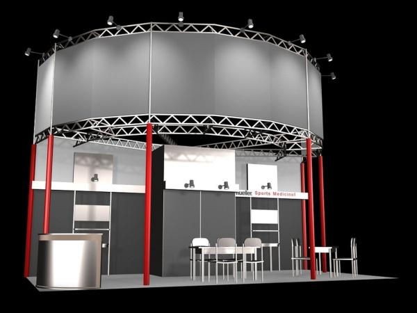 3D showroom model free 3ds max download