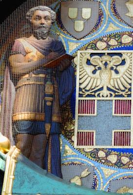 Intelligent Christus Mit Muttergottes Blattvergoldet Um 1880 Antike Volkskunst