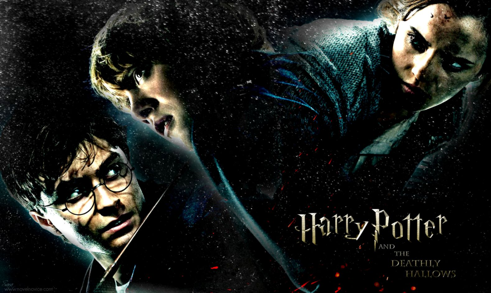 Harry Potter And The Deathly Hallows Poster Free Wallpapers Full