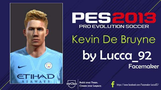 Kevin De Bruyne Face PES 2013