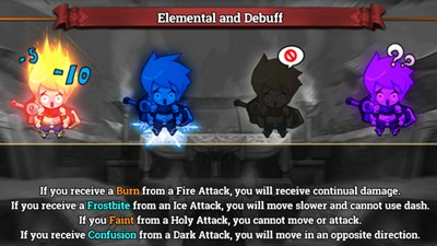 Zenonia S Elemental Attacks