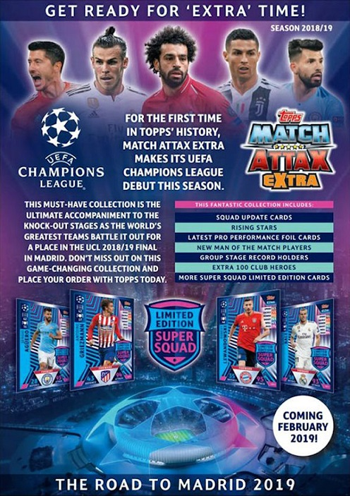 Topps Match Attax Ligue des Champions Road to Madrid 19 CARTE Nº 55 Keita BALDE