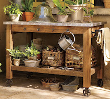 Parkdale Ave. Gardening -haves Potting Bench