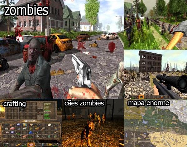7 days to die jogo de sobrevivencia apocaliptico com zombies