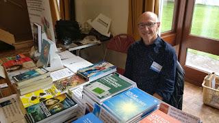 David Thorpe at the Tenby Bookfair
