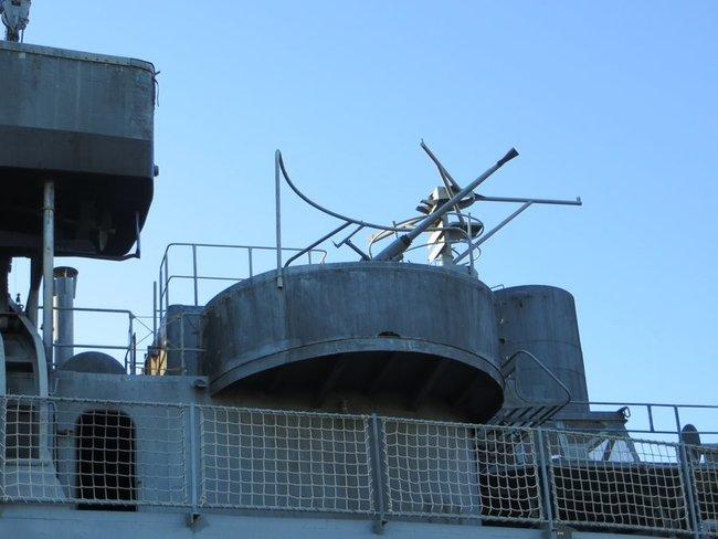 пулемет на корабле