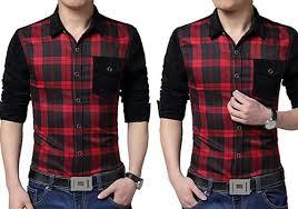 Trend Baju Kemeja Pria Kotak - Kotak Terbaru