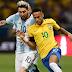 Horário do jogo Brasil x Argentina - Amistoso sexta-feira 09/06/2017