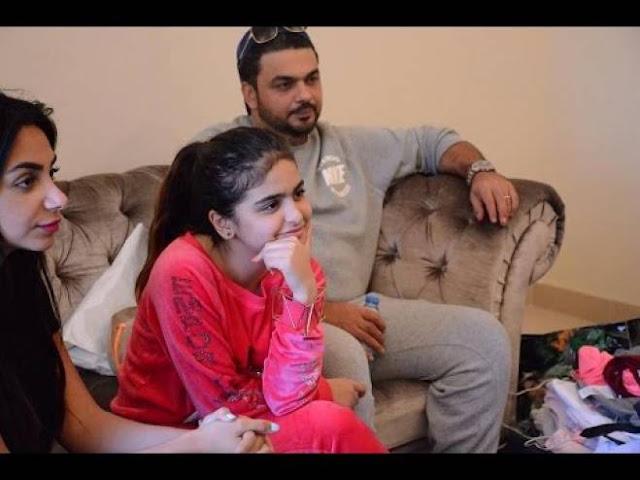حلا الترك من جديد تستفز والدتها بمساعدة والدها شاهد ماذا كانت تفعل برفقة والدها