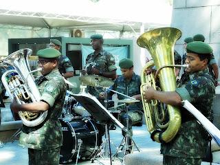 Orquestra do Exército na Festa do Livro de Porto Alegre