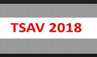 la TSAV au plus tard le 31 août 2018