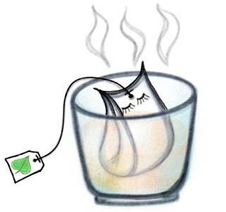 картинка иллюстрация арт Персонажики: чай - p_i_r_a_n_y_a